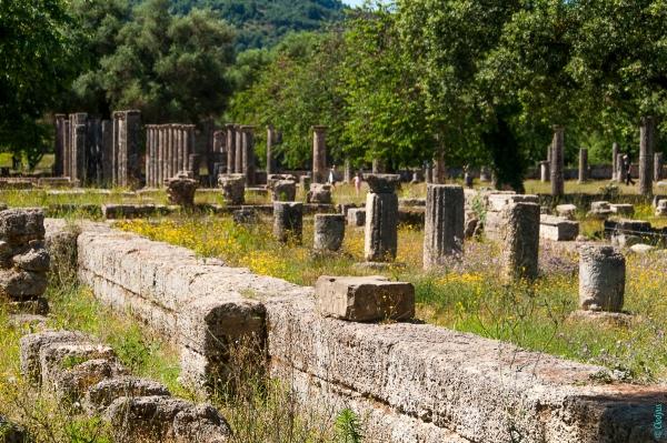Site archéologique d'Olympie, classé en 1989 - Patrimoine mondial de l'UNESCO