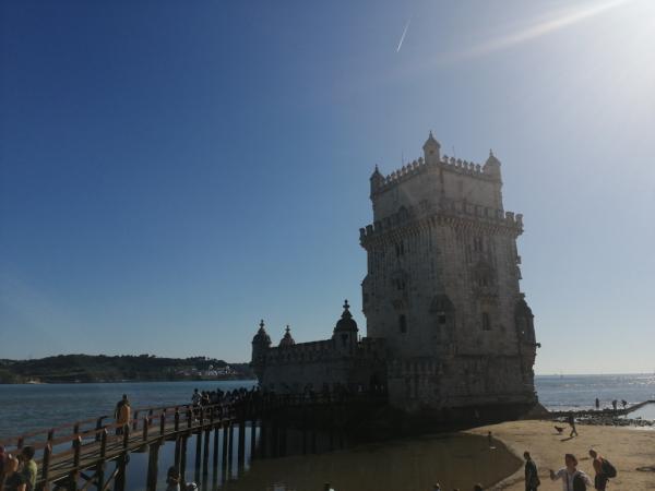 Vue de la tour Belem