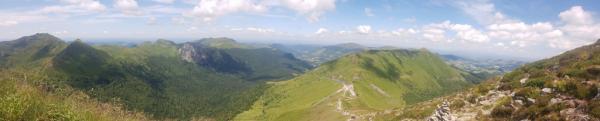 Vue depuis le Puy Mary