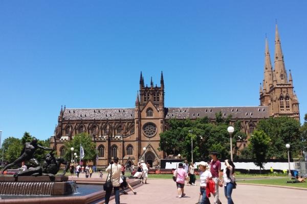 Parc et cathédrale