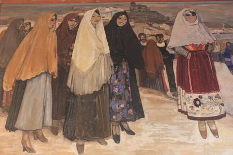 une des fresques de Biasi.