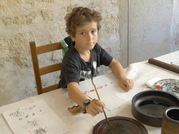 Cours de calligraphie et peinture chinoise même pour les enfants...