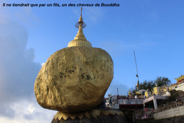 Le rocher d'or