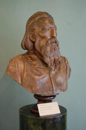 buste du peintre