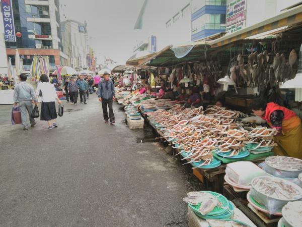 Marché aux poissons de Jagalchi, Busan, 2018, SB.