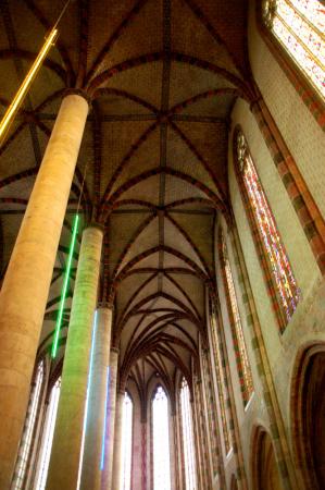 L'église et ses croisées d'ogives