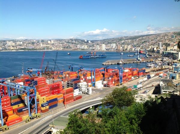 Vue d'ensemble de Valparaiso