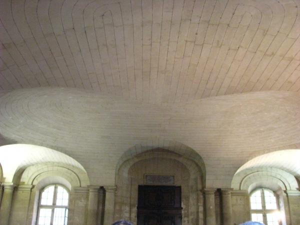 Plafond du hall de l'hôtel de ville d'Arles
