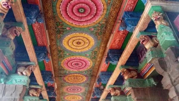 Des plafonds peints magnifiques
