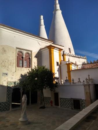 Vue du palais national de Sintra