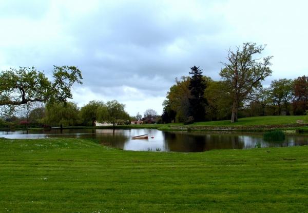le parc du Manoir de la Boulaie