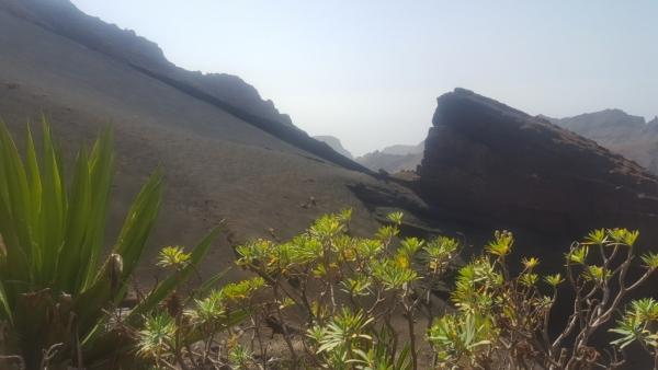 Sur Sao Nicolau, un lieu juste magique, une des 10 îles de l Archipel Cap Verdien.