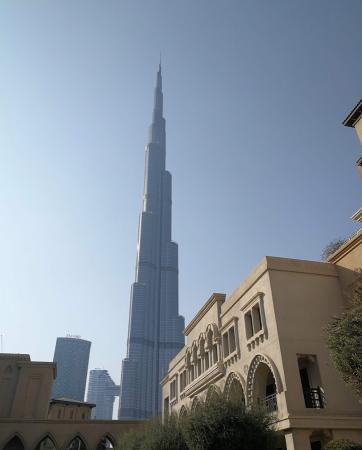 burj khalifa de l'extrieur