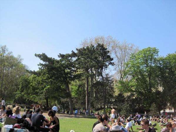 Une petite partie du parc