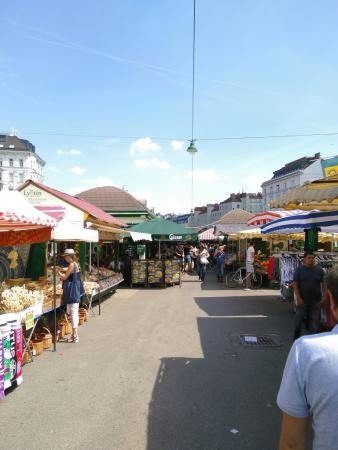 Naschmarkt, Vienne, 2018, SB.
