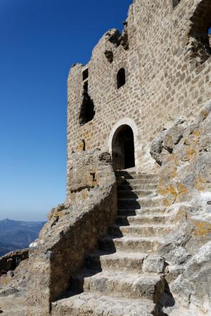 Château de Quéribus - vue générale
