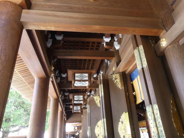 un détail du temple