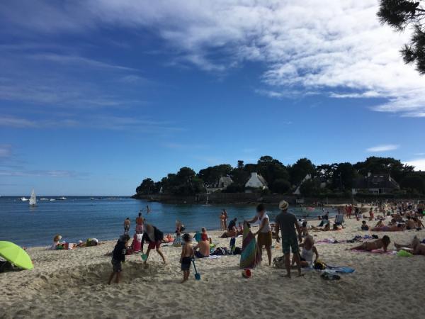 La plage de Beaumer
