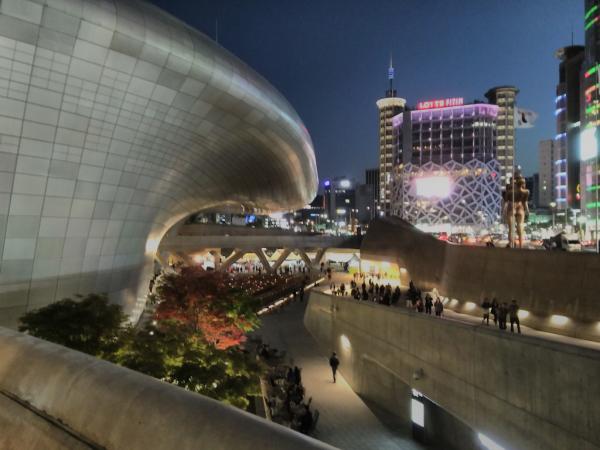 Dongdaemun Design Plaza, avril 2018, SB
