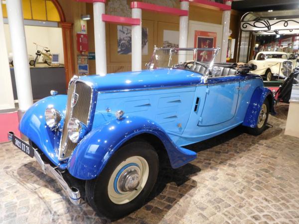 Peugeot 601 Roadster - 1935
