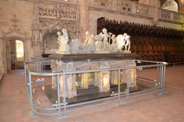 le mausolee de Philibert, son mari