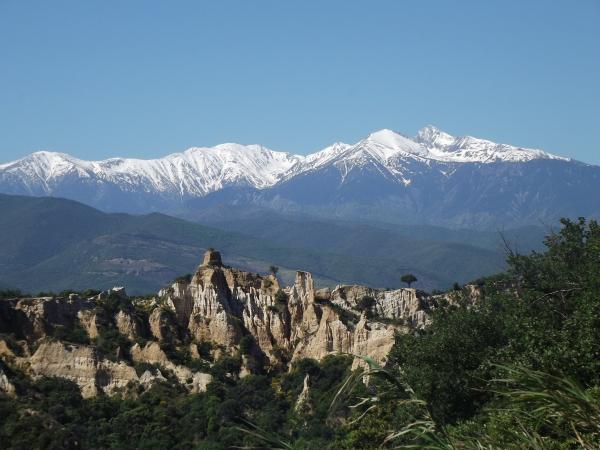 vue du belvédère en allant sur Montalba