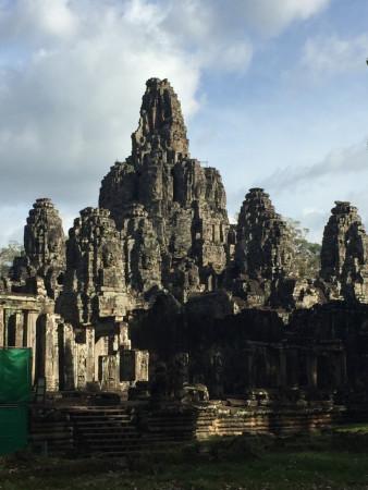 Temple sur le site d'Angkor.
