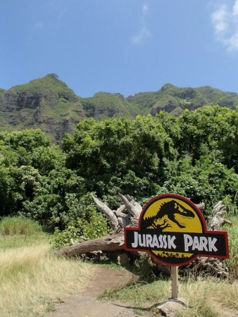 Lieu de tournage Jurassic parc