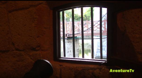 Pont-levis depuis l'intérieur du fort