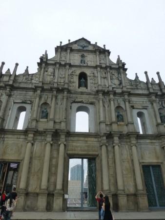 ruines de l'Igreja de Sao Paulo