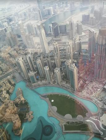 burj khalifa de l'intérieur