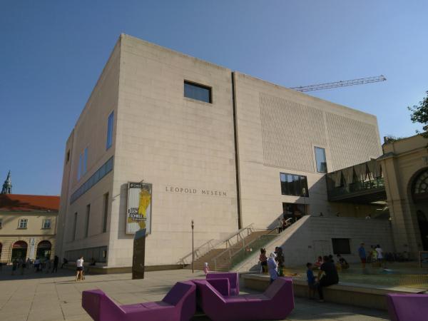 Museumsquartier, Vienne, 2018, SB.