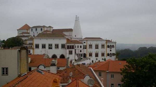 Vue générale du palais