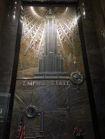 Entrée de l'Empire State Building