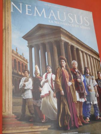 Le film qui présente l'histoire de la ville de Nemausus (Nîmes)