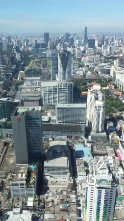 La vue depuis le 80ème étage