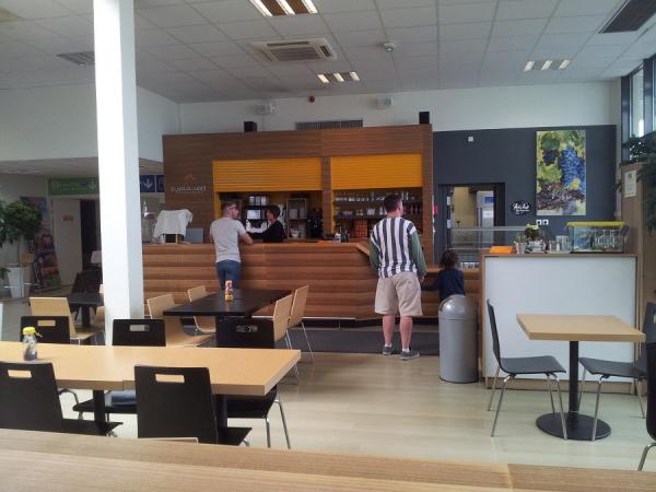 Bar de l'aéroport