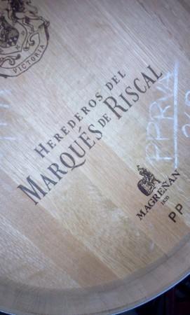 le sceau Marqués de Riscal