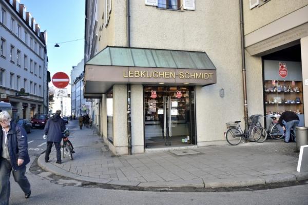 La boutique dans un coin du Viktualmarkt