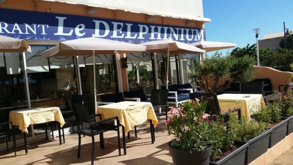 Le Delphinium, nouvelle terrasse...