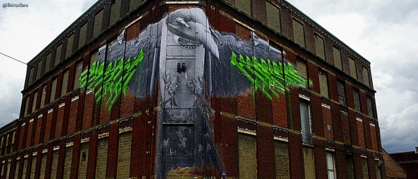 Fresque quartier du Pile, Roubaix.