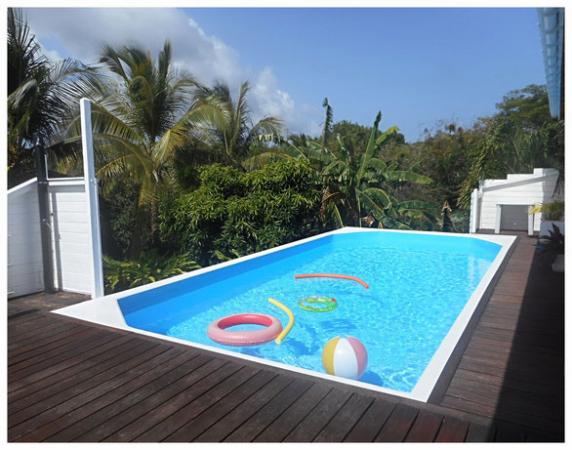 piscine au calme