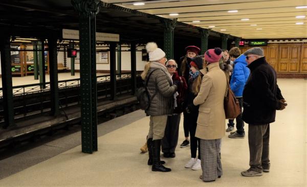 Dans le premier métro de Budapest