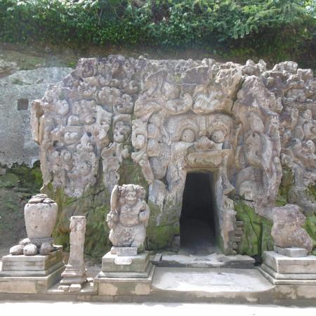 entrée grotte