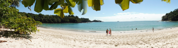 la plage Manuel Antonio