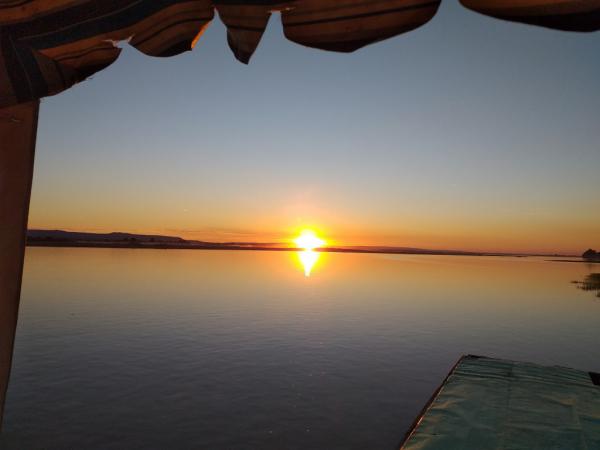 Coucher de soleil  Tsiribihina