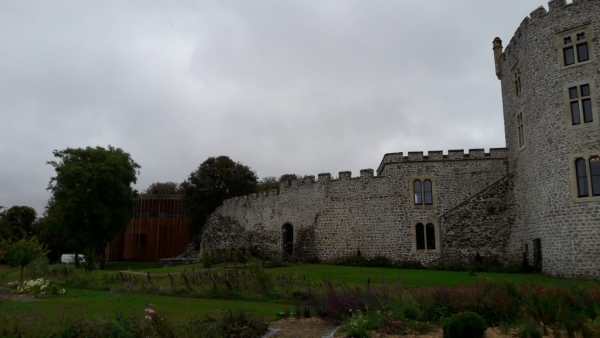 Le château vu du jardin
