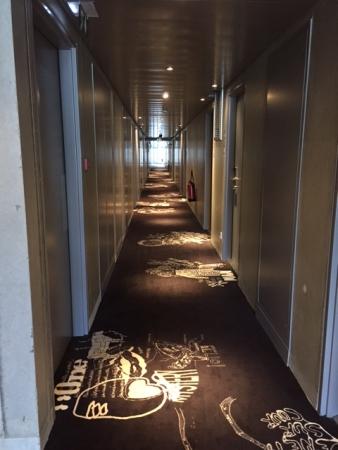 Couloir d'un étage