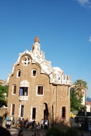 Barcelone, Parc Güell, Maison Gaudi