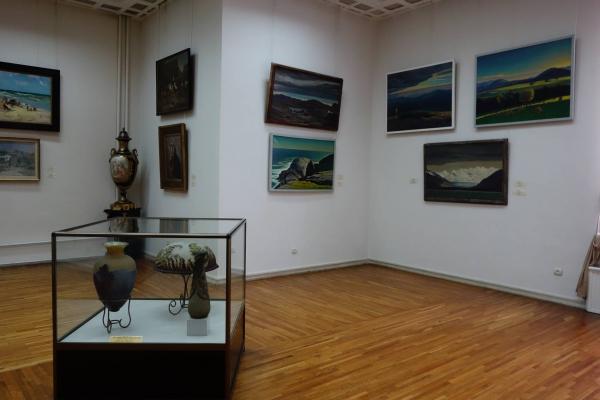 vue d'une salle des collections permanentes